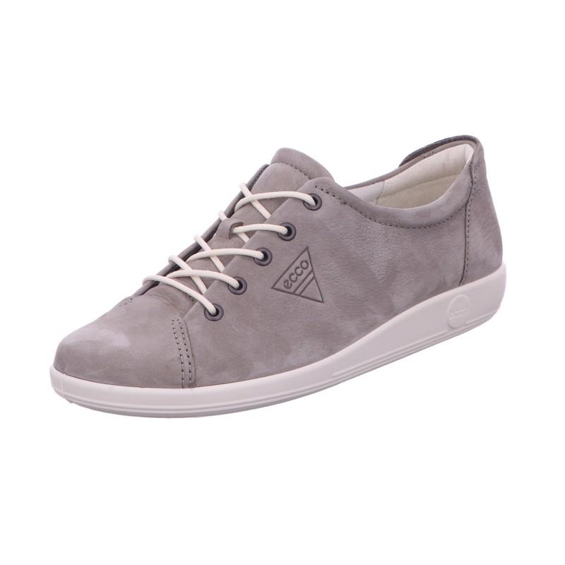 Halbschuh Sneaker Sport Damen Grau Soft 2.0 Neu