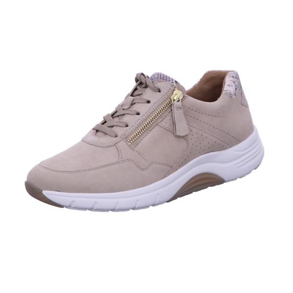 Sneaker Halbschuh Freizeit Damen Beige Florenz