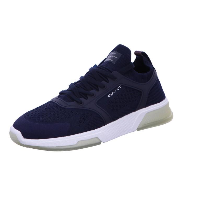 Sneaker Halbschuhe Sport Herren Blau Hightown