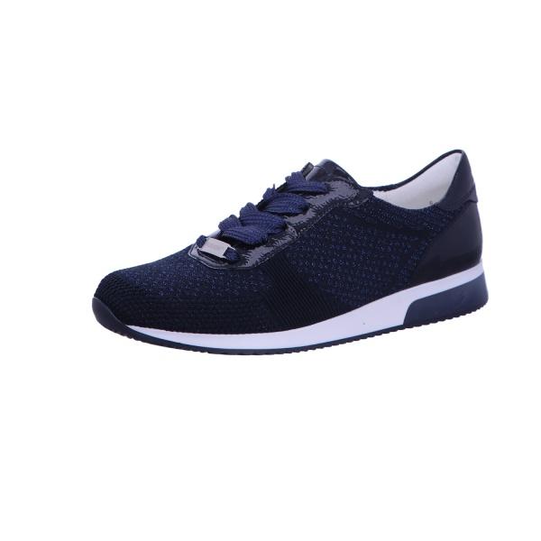 Sneaker Sportschuh Schnürschuh Damen Blau Fusion