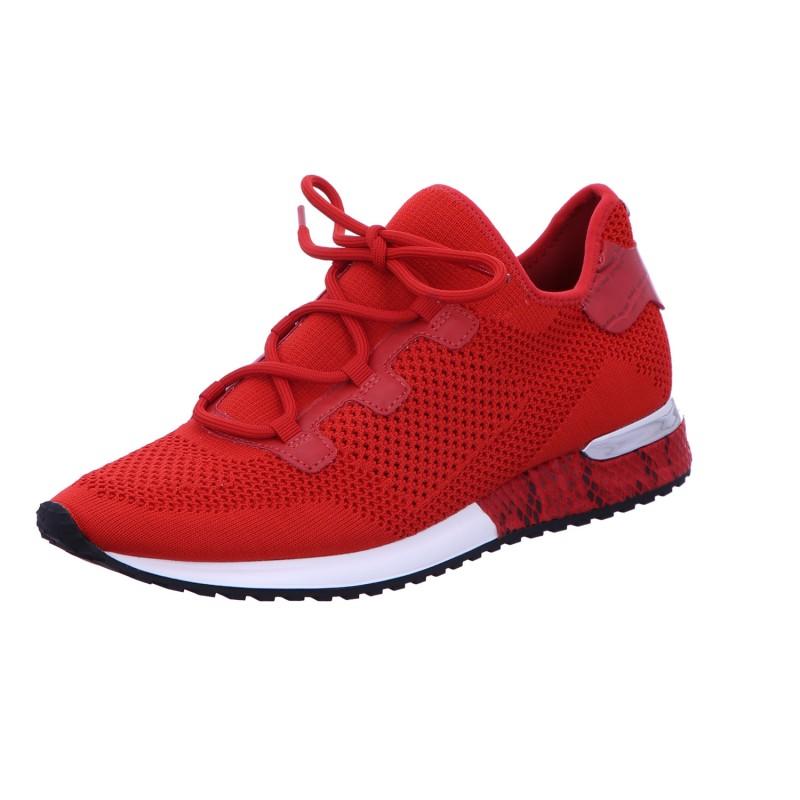 Sneaker Sportschuh Schnürschuh Damen Rot Neu