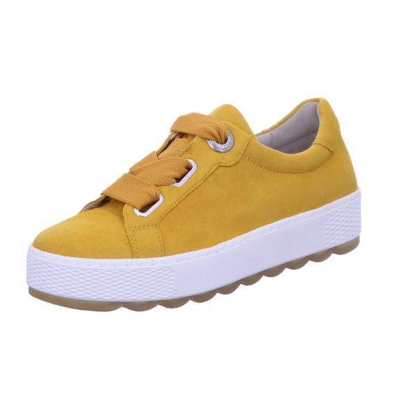 Sneaker Halbschuh Freizeit Damen Gelb Florenz