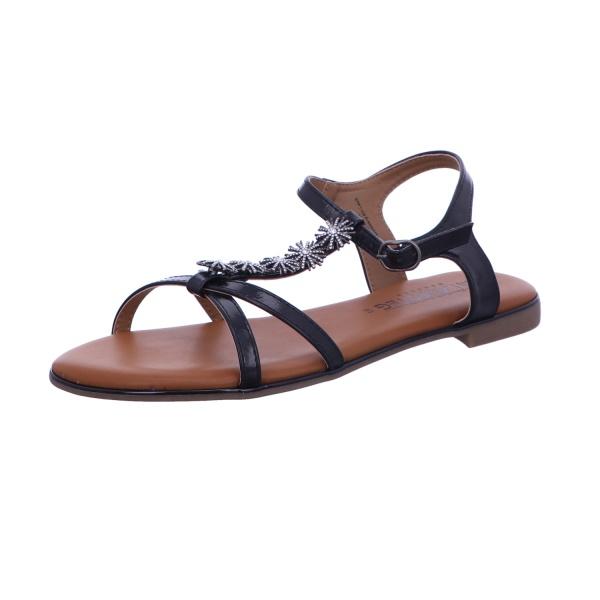 Sandale Schnalle Freizeit Damen Black