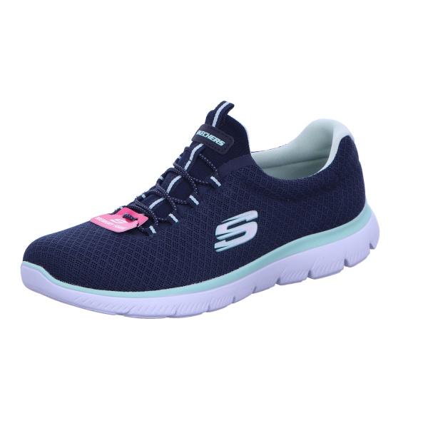 Sneaker Sportschuh Damen Blau Summits Neu