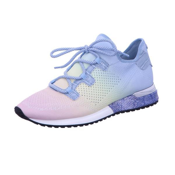 Sneaker Sportschuh Schnürschuh Damen Blau Neu