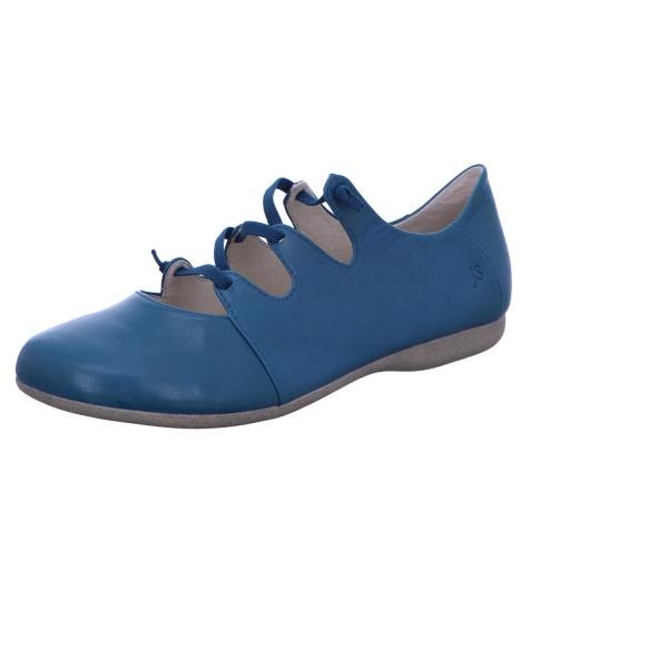 Ballerina Freizeit Damen Blau Fiona 04