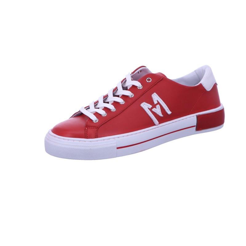 Sneaker Schnürhalbschuh Freizeit Damen Rot