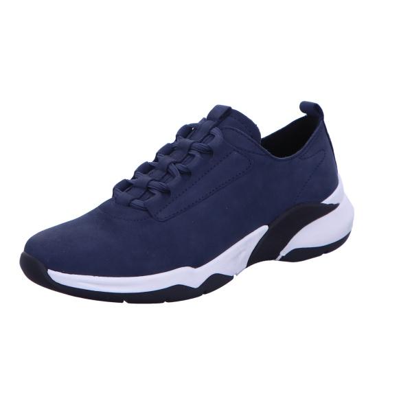 Sneaker Schnürschuh Sport Damen Blau Starlight