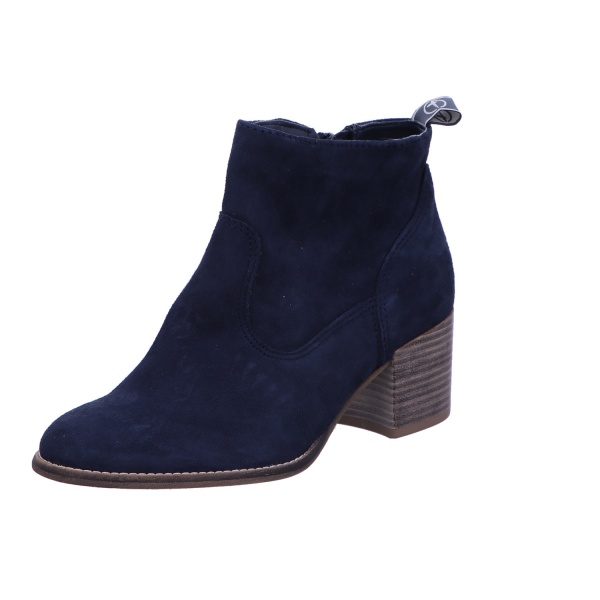 Schlupfstiefelette Stiefel Boots Damen Blau Neu