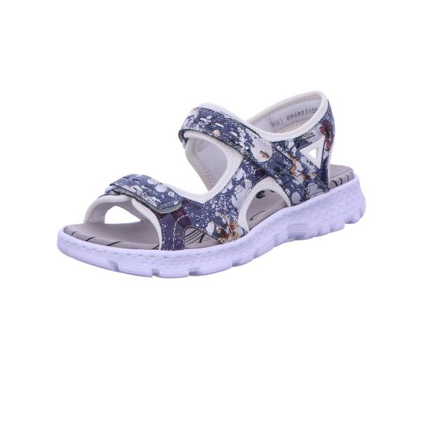 Sandalette Absatzschuh Sommerschuh Damen Multi Neu