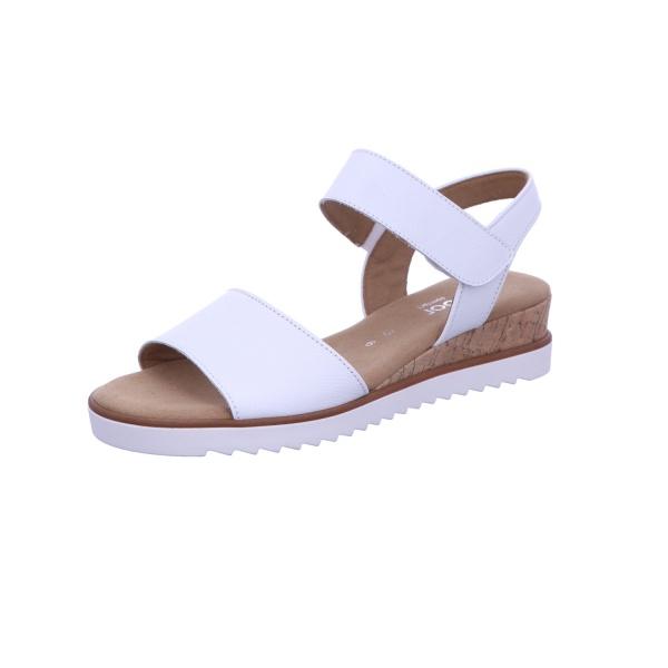 Sandale Freizeit Damen Weiss Genua