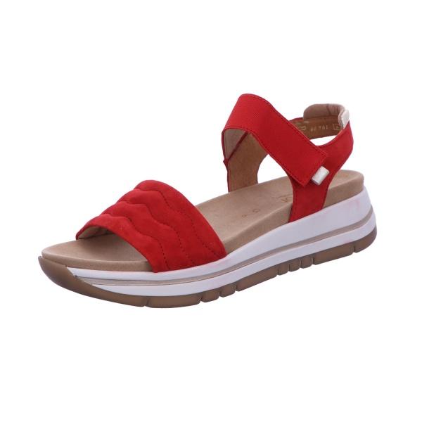 Sandalette Freizeit Damen Rot Florenz