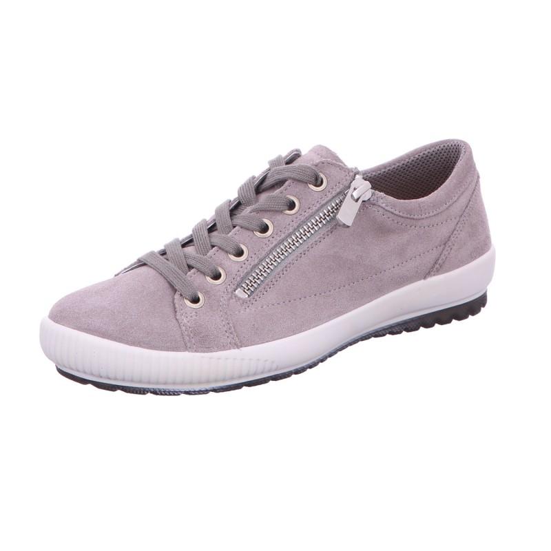 Sneaker Schnürhalbschuh Freizeit Damen Grau